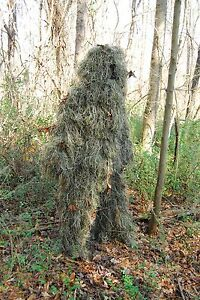 Bulls-Eye Ghillie suit  Woodland color size ML