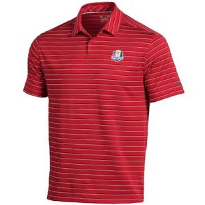 Under Armour 2018 Ryder Cup Coolswitch Putting Stripe Polo - Red