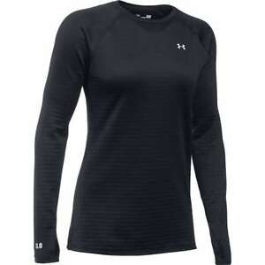 UNDER ARMOUR women's 3.0 Cold Gear  base layer crew neck Shirt Large L