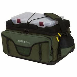 New Gander Mountain Tackle Bag W 5 Plano 3650 Prolatch Stowaway Boxes 4663-20