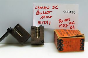 #6450 Lyman single cavity bullet mold 311291 30 cal. 170 gr RN