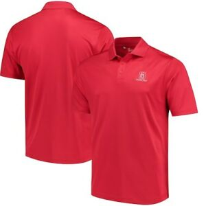 TPC Deere Run Under Armour Performance Polo - Red