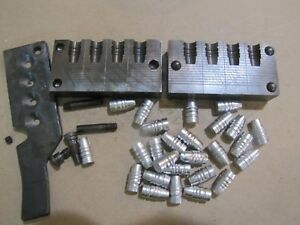 Lyman 358156 4 Cavity Bullet Mold Lead Bullet Casting Mould
