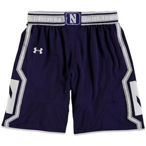 Northwestern Wildcats Under Armour Youth Replica Basketball Shorts - Purple