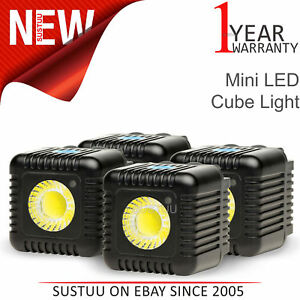 Lume Cube Quad Cube Pack│Mini Portable LED Action Light│Bluetooth Controlled│NEW