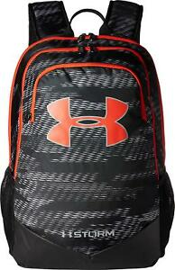 Under Armour Boys UA Storm Scrimmage Backpack 1277422 BlackRed 7074