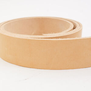 SLC Veg Tan Tooling Cowhide Leather Belt Blanks, Belt Strips 50 7 9 oz