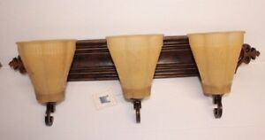 Murray Feiss VS9703 WAL 3 Light Vanity Strip Bronze Anique look