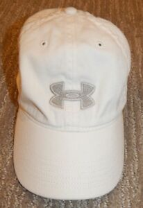 UNDER ARMOUR White Adjustable Fit Slouch  Golf Fit Cap  Hat Women's OSFA