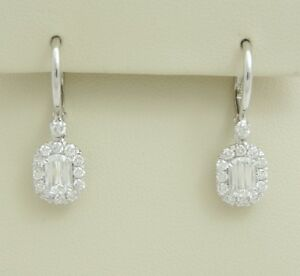 CRISSCUT DIAMOND DANGLE EARRINGS CHRISTOPHER DESIGNS