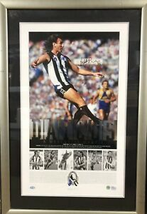 Peter Daicos A Mercurial Magpie Limited Framed and Signed Lithograph RRP $580.00
