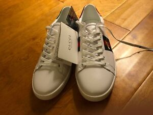 Gucci Shoes Sneakers White Size US 8.5 Brand New With Bag