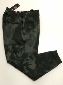 UNDER ARMOUR MEN'S 2XL RIVAL FLEECE JOGGERS CAMO PANTS SWEATPANTS TAPERED NWT