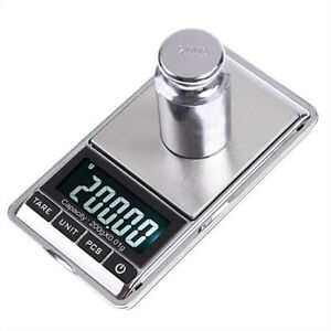 0.01g 0.1g Digital Pocket Scale Precision Scale for Jewerly Reload Coins USA