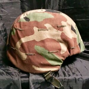 U.S. MILITARY PASGT COMBAT HELMET MADE WITH KEVLAR M-4