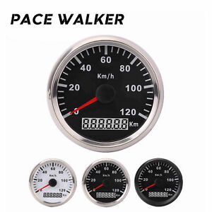 Motorcycle Speedometer Waterproof Digital Gauge for Car Boat Scooter Kart