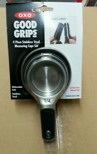 Oxo Good Grips Magnetic Measuring Cup Set Stainless Steel $18.99