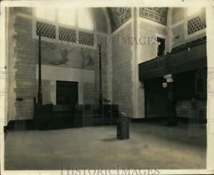 1924 Press Photo National Academy of Sciences Building and Albert Herter Mural