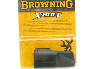 Browning 112044603 Black 3 Round X-Bolt Short Magazine For 300 325 Whinchester
