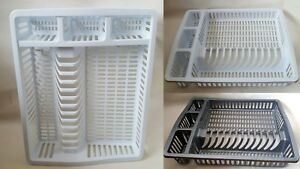 Dish Drainer Plastic Large Cutlery Holder Kitchen Sink Rack Plate Air Dry Dishes