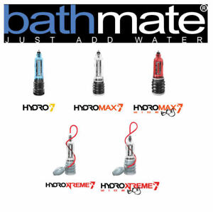 New 100% Authentic Bathmate Hydro Pump Hydromax Xtreme 5 7 9 11 Free Gift