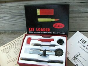 Rare Classic Lee Loader 219 Zipper Hand LoadingReloading Die Set dies kit