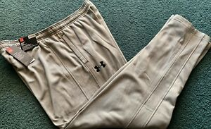 NWT Mens XL Under Armour GrayBlack Athletic Cold Gear Sweat Pants XL