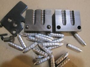 RCBS 7mm 168SP Double Cavity Gas Check Bullet Mold Lead Bullet Casting Mould