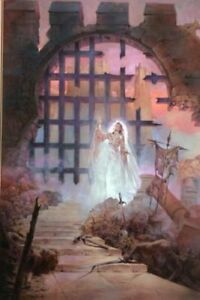 LARRY SCHWINGER PAINTING WITCHWORLD BY ANDRE NORTON