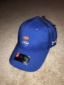 Royal Blue Kiawah Island Under Armour UA Free Fit Golf Hat NWT