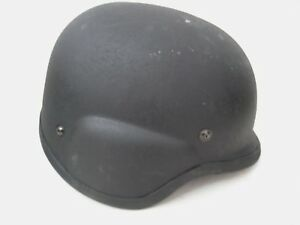 Tactical Black Police Swat Military Protective Helmet PASGT Interior Padding #2