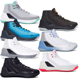 New Under Armour UA Stephen Curry 3 GS Youth Basketball Shoes Grade School Kids