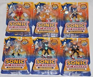 ToysRUs SONIC HEDGEHOG - SHADOW KNUCKLES TAILS SILVER WEREHOG exclusive figures