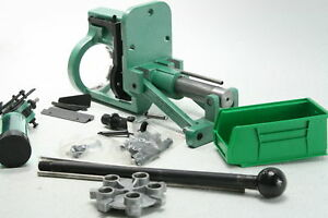 RCBS 88910 Pro Chucker 5 Progressive Reloading Press Die Plate Powder Green