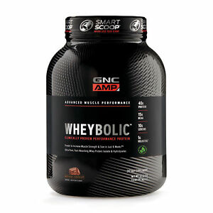 GNC AMP Wheybolic - Natural Chocolate