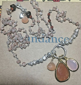 NEW Sundance Catalog Autumn Glow Necklace retail $238 backordered online gems