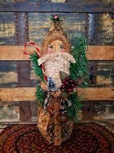 Primitive Antique Style Santa doll Christmas Belsnickel