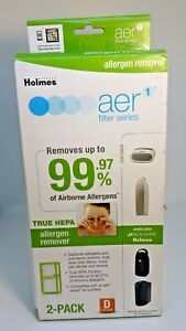 Allergen Remover Replacement aer1 for A D and K Filters Brand Holmes TRUE HEPA