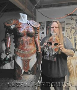 Leather Armor Costuming Cosplay and Accessorys Business For Sale