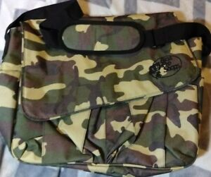 Bass Pro Shops Multi-purpose Camo Fishing Bag Camouflage color Fishing Tackle.