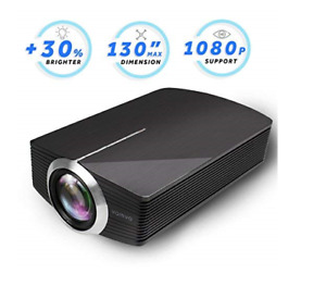 Led Projector Vamvo 2200Lux Home Theater Movie Projector Led Source Video