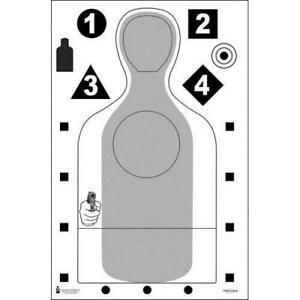 Escondido (CA) PD Qualification Target  Pack of 50