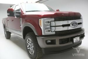 2019 Ford F-250  2019 Navigation Sunroof Leather Heated Camera BLIS V8 Diesel Vernon Auto Group