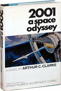 Arthur C. Clarke 2001 A SPACE ODYSSEY First Edition 1968 Books into Film #114127