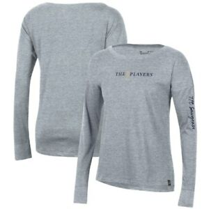 THE PLAYERS Under Armour Women's Performance Cotton Long Sleeve T-Shirt -