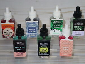 BATH BODY WORKS WALLFLOWERS HOME FRAGRANCE REFILL *SINGLE OR TWO PACK* CHOOSE $7.95
