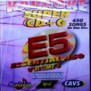 CHARTBUSTER ESSENTIAL SUPER CD+G Vol-5 450 Tracks Playable on CAVS System or PC