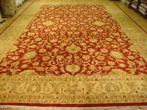 16' x 24' Traditional Hand-Knotted Agra Rug Rare Durable Soft Palace Size Rug