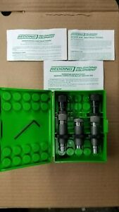 Redding 6MM BR Competition Bushing Neck Sizing Die Set #58317 WITH EXTRA ITEMS!!