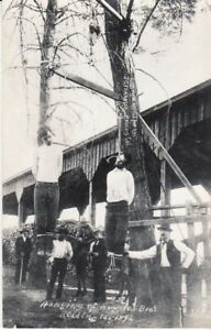 Real Photo Hanging Redding CAL.